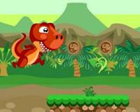 Dinosaurio que salta