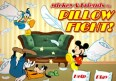 Mickey Mouse Pillow Fight game