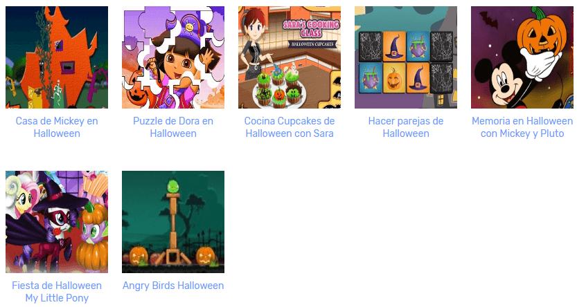 Juegos Para El Día De Halloween Juegos Gratis Online Cokitos