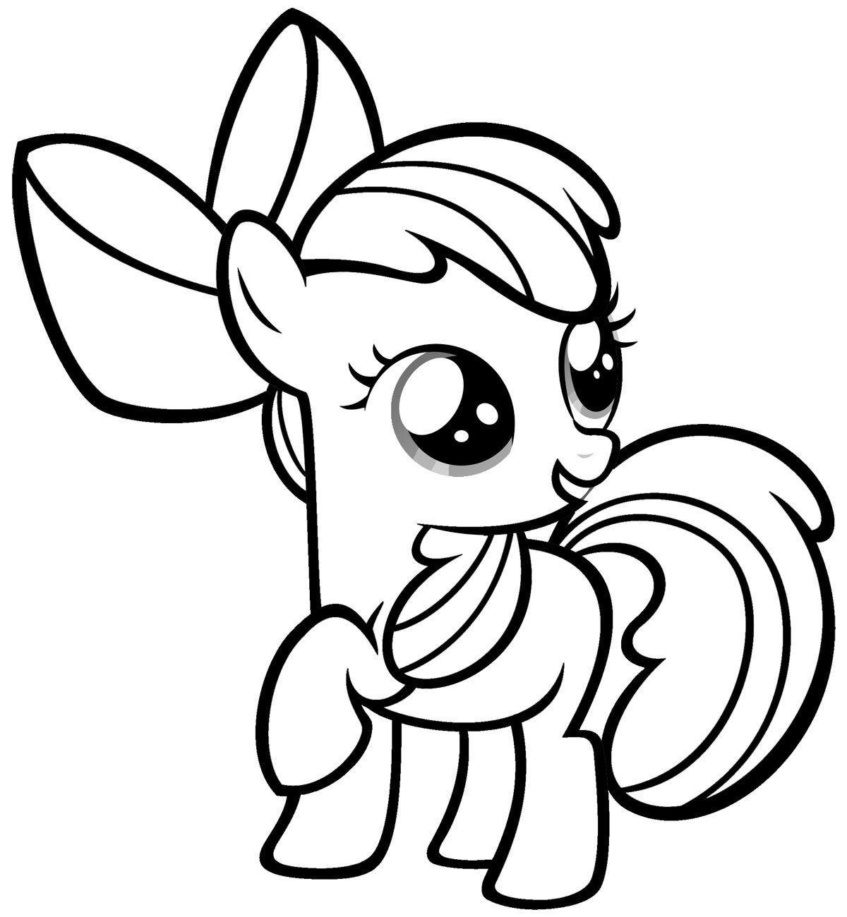 Dibujos De Little Pony Para Colorear Cokitos