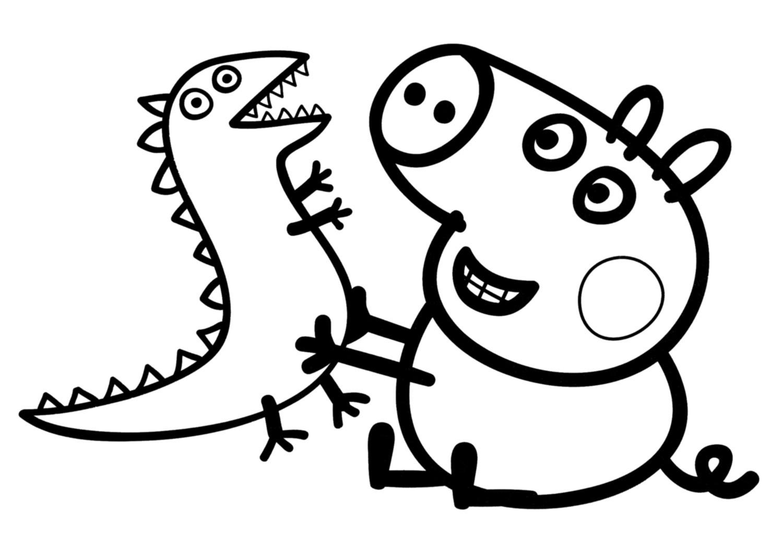 Dibujos Varios Para Colorear: Dibujos De Peppa Pig Para Colorear