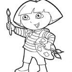 Dibujos de Dora para Colorear