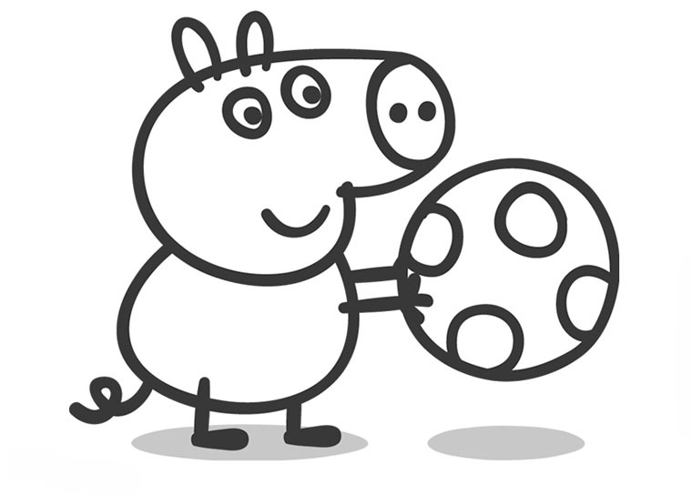 Dibujos De Peppa Para Colorear E Imprimir: Dibujos De Peppa Pig Para Colorear
