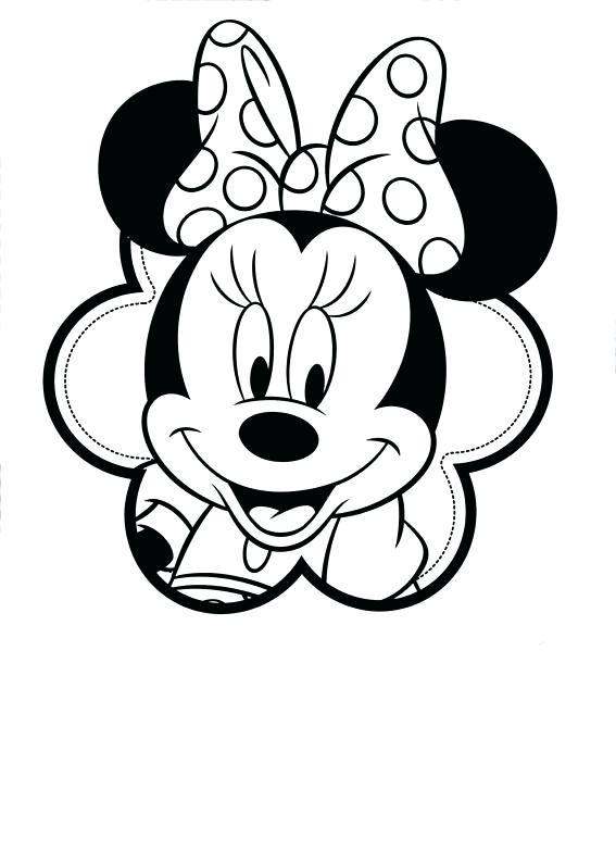 Dibujos De Minnie Para Colorear Cokitos