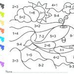 Dibujos de Sumas para Colorear