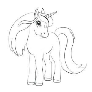 Dibujos De Unicornios Para Colorear Juegos Cokitos