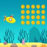 Submarino que Recoge Monedas