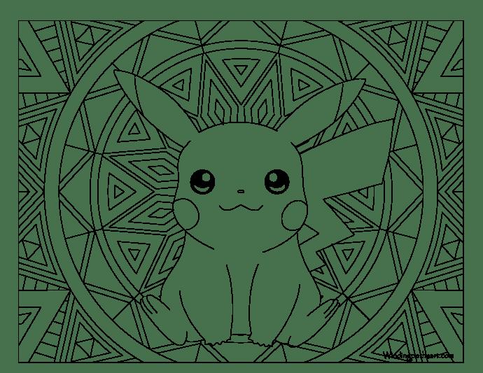 Dibujos De Pokemon Para Colorear Juegos Cokitos