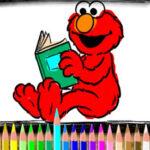 Colorear a Elmo