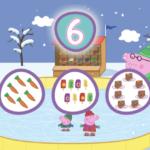 Aprender los números con Peppa