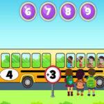Aprender a Sumar y Restar con el Bus Escolar
