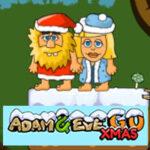 Adán y Eva en Navidad