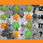 Adivinanzas Matemáticas en Otoño