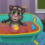 Bañar al Gato Tom