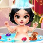 Baño de la Pequeña Blancanieves