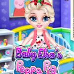 Decorar la habitación de Elsa con Peppa Pig