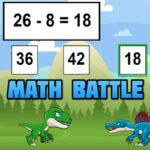 Batalla Matemática con Dinosaurios