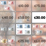 Billetes de Euro – Memoria