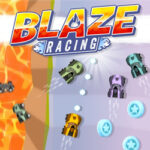 Blaze Racing: Carrera en Llamas