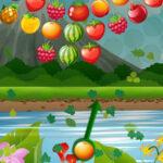 Disparar Bolas de Fruta Giratorias