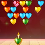 Bubble Shooter de Corazones