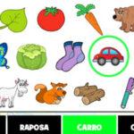 Búsqueda de objetos en Portugués