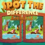 Buscar Diferencias en Dibujos de Animales