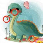 Buscar Diferencias con Dinosaurios