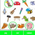 Buscar Objetos en Inglés
