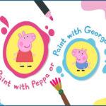 Caja de Pintura de Peppa y George