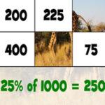 Puzzle de Cálculo de Porcentajes