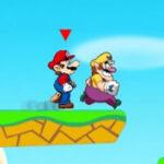 Carrera de Mario y Wario