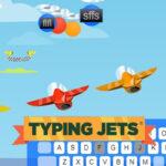 Carrera de Mecanografía: Typing Jets