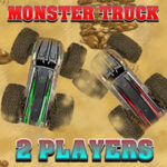 Carrera Monster Truck 2 Jugadores