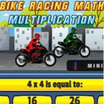 Carrera de Multiplicaciones en Moto