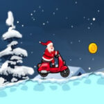 Carrera de Papá Noel en Moto