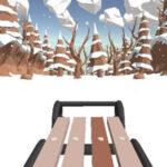 Carrera de Trineo en la Nieve