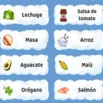 Clasificar Ingredientes: Recetas del Mundo