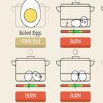 Atención Alternante: Cocer Huevos