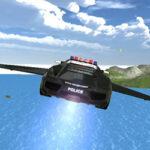 Auto Volador de Policía
