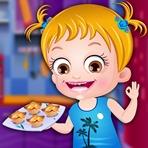 Cocina con Baby Hazel