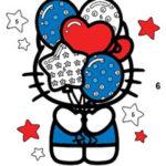 Colorear por Números Hello Kitty
