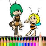 Colorear Dibujos de Abejas
