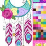 Colorear Atrapasueños Mandalas