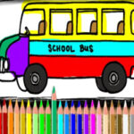 Colorear Autobús Online