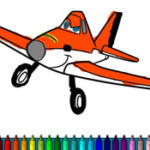 Colorear Aviones – Disney