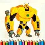Colorear Ben 10 Monstruos