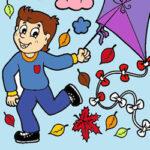 Colorear Dibujos de Otoño