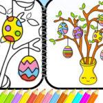 Colorear Dibujos de Pascua
