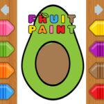Colorear Frutas